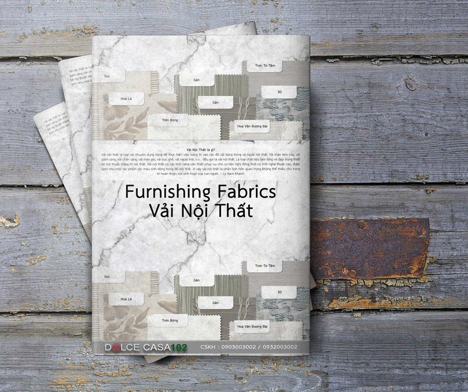 cuốn vải mẫu furnishing fabrics